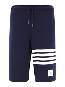 Thom Browne - Shorts Engineered 4-Bar blu
