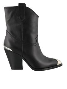 Ash - Elvis ankle boots in black