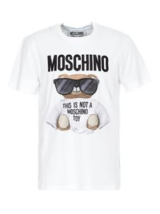 Moschino - T-shirt Teddy Bear bianca