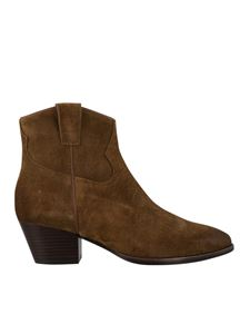 Ash - Houston ankle boots in brown