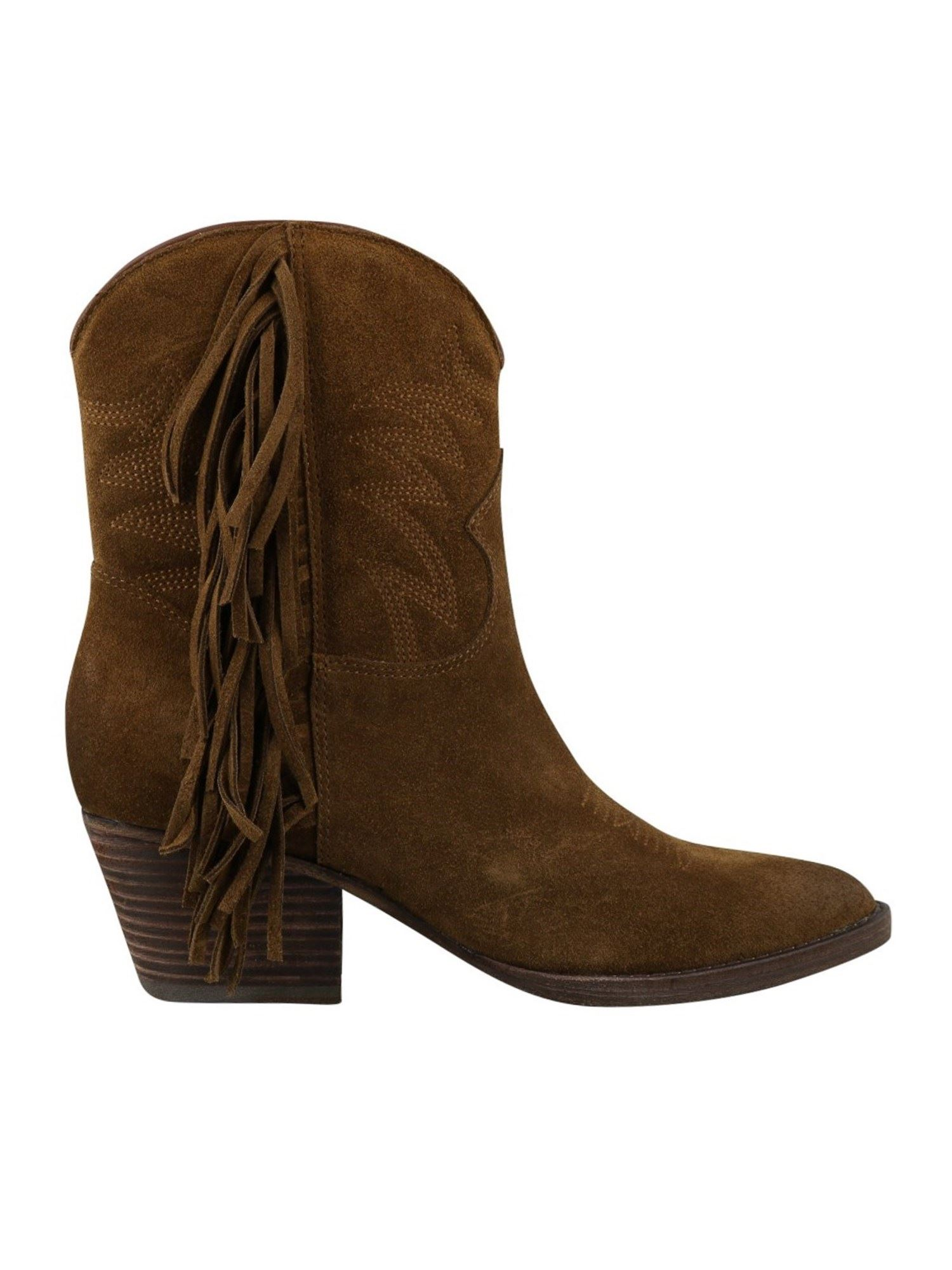 Ash FURIOUS ANKLE BOOTS IN BROWN