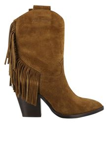 Ash - Emotion ankle boots in brown