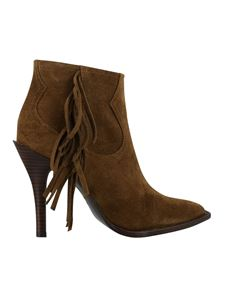 Ash - Alabama ankle boots in brown