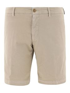berWich - Bermuda in cotone stretch beige
