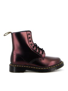 Dr. Martens - 1460 Pascal ankle boots in red