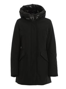 Woolrich - Arctic Parka hooded padded coat in black