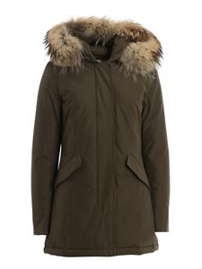 Woolrich - Arctic Parka Teflon™ padded coat in green