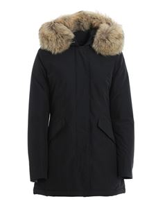 Woolrich - Arctic Parka padded coat in dark blue
