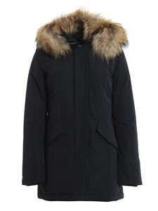 Woolrich - Luxury Arctic parka in blue