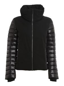 Colmar Originals - Concealed hood puffer jacket in black