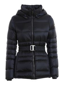 Colmar Originals - Tech fabric puffer jacket in blue