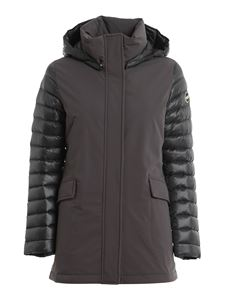 Colmar Originals - Quilted sleeves puffer jacket in grey