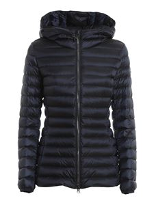 Colmar Originals - Nylon hooded padded coat in blue