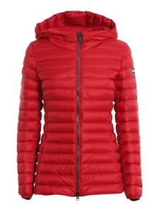 Colmar Originals - Nylon hooded padded coat in red