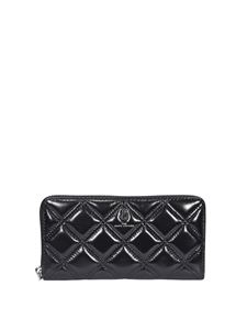 Marc Jacobs  - The Quilted Softshot Standard wallet in black