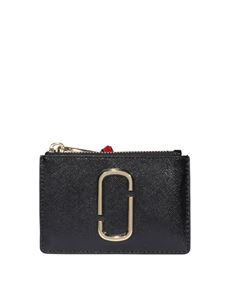 Marc Jacobs  - The Snapshot wallet in black