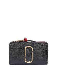 Marc Jacobs  - The Snapshot Compact wallet in black