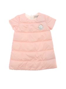 Moncler Jr - Padded dress in pink