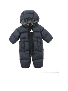 Moncler Jr - Padded suit in blue