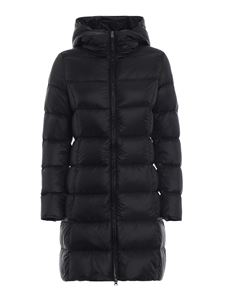 Colmar Originals - Quilted nylon padded coat in black