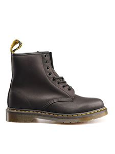 Dr. Martens - 1460 Greasy ankle boots in black