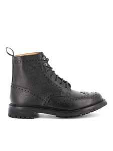 Church's - Anfibi Mc Farlane 2 con dettagli brogue nero