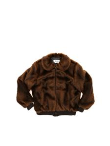 Bonpoint - Paprika faux fur in brown