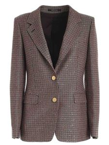 Tagliatore - Micro sequins jacket in shades of brown