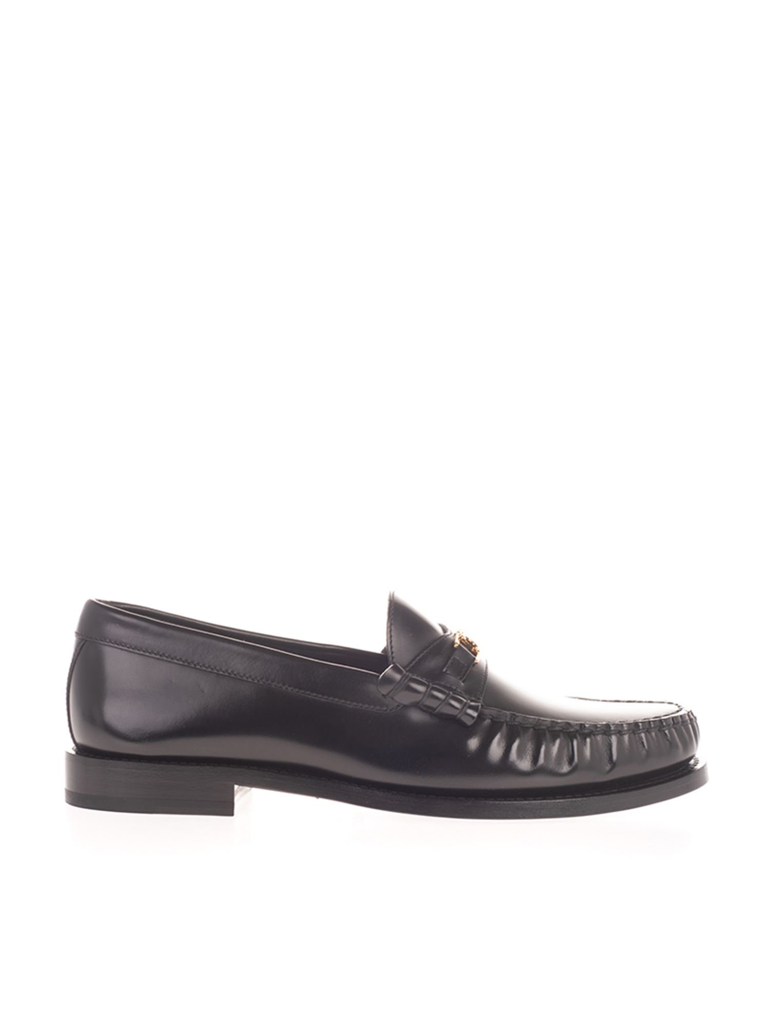 Celine TRIOMPHE LOAFERS IN BLACK