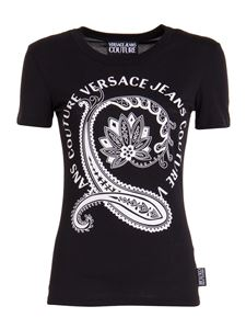 Versace Jeans Couture - Maxi logo T-shirt in black