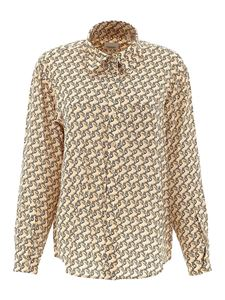 Burberry - Unicorns printed shirt in beige and cream color