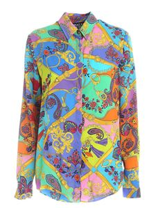 Versace Jeans Couture - Paisley Belt print multicolor shirt