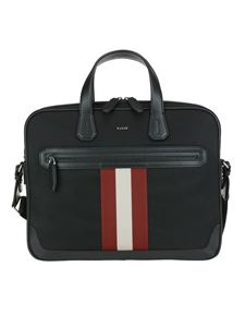 Bally - Chandos small business bag in black