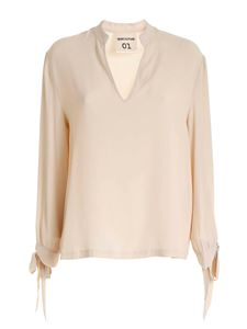 Semicouture - Cream-colored blouse with bows