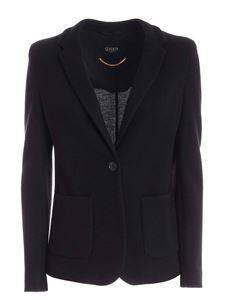 Seventy - Single-breasted jacket in black