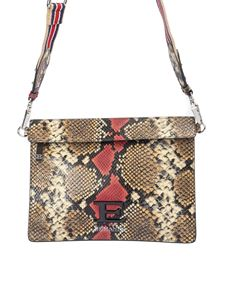 Ermanno Scervino - Snake print leather cross body bag