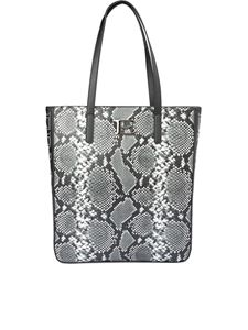 Ermanno Scervino - Snake print faux leather tote bag