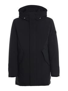 Woolrich - Stretch Mountain parka in black