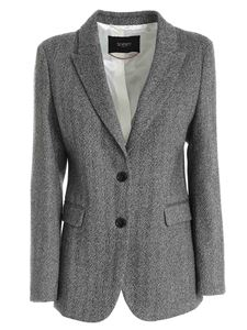 Seventy - Herringbone jacket in black and grey