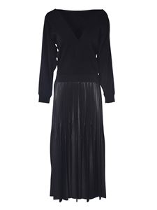 Givenchy - Dress with pleated skirt in black