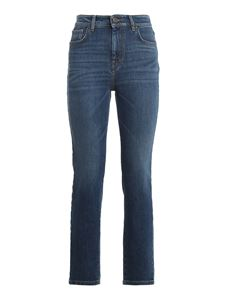 Max Mara Weekend - Jeans crop Finanza in denim blu