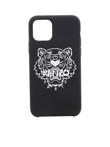 Kenzo - Tiger cover for I Phone 11 Pro in black