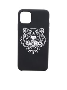 Kenzo - Tiger cover for I Phone 11 Pro Max in black