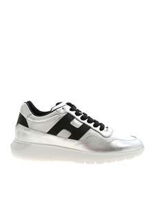 Hogan - Interactive 3 sneakers in black and silver color
