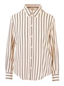 Celine - Printed shirt in ivory color
