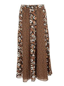 Michael Kors - Long floral skirt