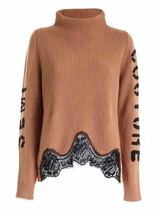 Semicouture - Charlotte pullover in camel color