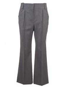 Fendi - Flared suit pants in gray
