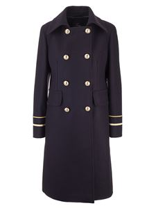 Fay - Double-breasted coat in blue