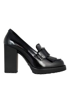 Hogan - Décolleté stile mocassino nero